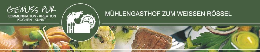 Mühlengasthof Zum Weißen Rössel - Logo